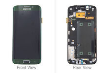 Genuine Samsung Galaxy S6 Edge G925F Green LCD Screen & Digitizer - GH97-17162E
