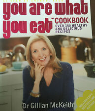 Hand Signed You Are What You Eat Book by Gillian McKeith   Channel 4 RARE