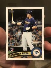 2011 Topps Update Anthony Rizzo Rookie Card#US55 Yankees Cubs Mint