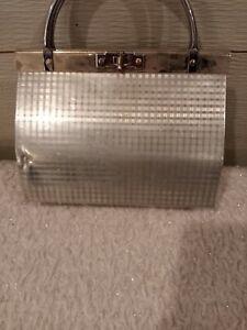 Vintage  Dorset-Rex 5th Avenue  Silver Metal purse Rare