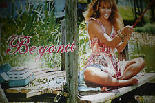 Sexy Beyonce Poster wow barfuss barefoot Rückseite Kelly Clarkson für Sammlung