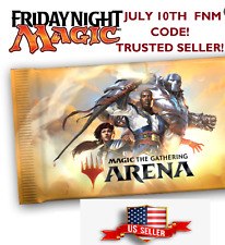 USA SELLER! MAGIC MTGA MTG Arena Code FNM Home Promo Pack July 10th / JUL 10
