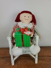 """1994 Madeline Doll Christmas Morning w Genevieve & Present 17"""" Rare Retired Nwt"""