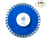 4.5 Inch Cold-Pressed Continuous Diamond Saw Blades Turbo Wave with Flange-1 Pc