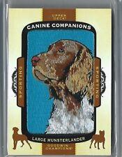 Large Munsterlander 2017 Goodwin Champions Canine Companions Patch #cc30