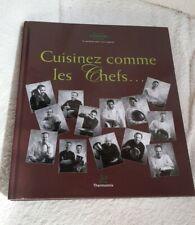 Livre thermomix vorwerk cuisinez avec les chefs 2008