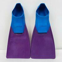 FINIS Long Floating Fins , Blue/Purple, XXXXS (Jr 6-8)