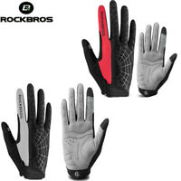 ROCKBROS Sports Cycling Gloves Full Finger Touch Screen Bicycle Gloves 2 Colors