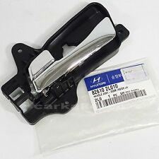 Genuine 826102L010 Inside Door Handle Catch Chrome Left HYUNDAI i30  i30CW 08-11