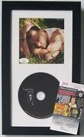 SAM SMITH CD DISPLAY JSA CERTIFIED COA SIGNED MUSIC SINGER AUTOGRAPHED LOVE GOES