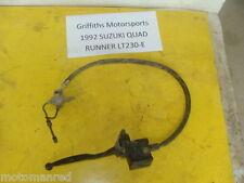 91 92 93 Suzuki LT230 LT 230 QUAD RUNNER LT230e FRONT BRAKE MASTER LEVER LINE