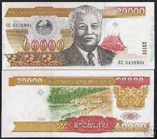 LAOS LAO 20000 KIP P36 2003 HYDRO ELECTRIC UNC MONEY BUNDLE X 20 PCS BANK NOTE