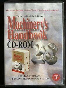 MACHINERY'S HANBOOK CD-ROM rare