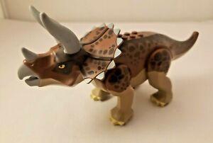 Lego Dino Set 5885 Big Minifigure Triceratops Dinosaur Jurassic Park World A54