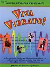 Viva Vibrato String Bass Study Sheet Music Book Double Bass