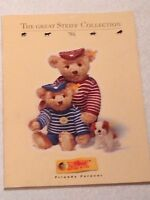 ❤STEIFF SORTIMENT Large CATALOG BOOK TEDDY BEARS & ANIMALS IDENTIFY GUIDE 1996❤