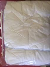 ÉDREDON, NEUF, BB/ chambre enfants 120x150cm (blanc liseret bleu)