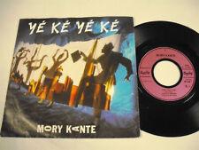 "MORY KANTE Yé Ké Yé Ké  7"""