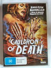 Cauldron Of Death DVD 1973 Barbara Bouchet Malisa Longo Ricco Region 4 Umbrella