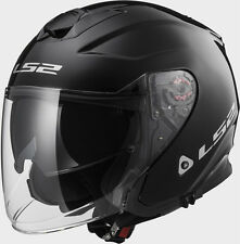 CASCO JET LS2 OF521 INFINITY GLOSS BLACK TG L