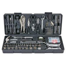 130 pc Tool Set & Case Auto Home Repair Kit SAE Metric  Warranty FEDEX