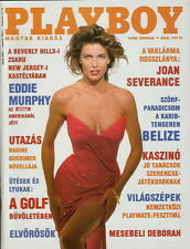 Playboy Hungary / Ungarn 1990/04 - CV Joan Severance - CF Deborah Driggs