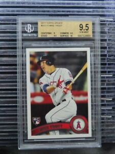 2011 Topps Update Mike Trout Rookie Card RC #US175 BGS 9.5 Angels (03) I57