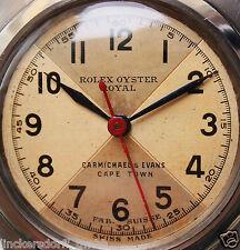 ROLEX OYSTER ROYAL -MEDIUM - ART DECO TRAUMZIFFERBLATT - 1940er JAHRE - SELTEN