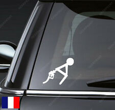 STICKER AUTOCOLLANT HUMOUR ESSENCE TROP CHERE CARBURANT POUR VOITURE TUNING ETC