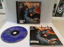 Console Game SONY Playstation PSOne PSX PAL Play TOTAL ECLIPSE TURBO Crystal D.