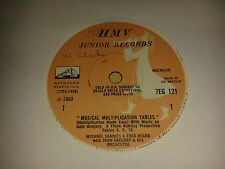 "Michael Sammes & Enid Heard  ""Musical Multiplication Tables""  7"" (1960) HMV"