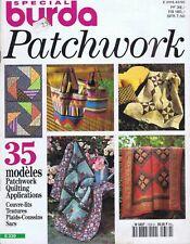 ▬►Magazine BURDA Special - PATCHWORK - 35 modèles - 1995