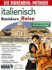 Birkenbihl-Italienisch Basiskurs Reise 3 CDs+1xMP3-CD+Book Neu+in Folie (2002)