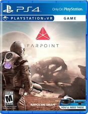 PS4 Farpoint VR Far Point Space NEW Sealed REGION FREE USA Virtual Reality