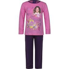 Pyjamas rose 5 ans pour fille de 2 à 16 ans en 100% coton