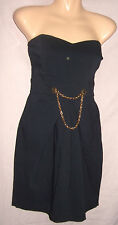 SIZE 14 SUPER SEXY STRETCH NAVY PARTY DRESS WORN ONCE WOW!!