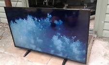 Cello LED 4K TV with faint pixel-thick lines on screen & light screen scratch