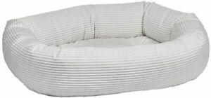 NWT Bowsers Donut Bed, Medium, Marshmallow, The Best Dog Bed out!