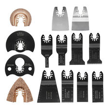 14pcs Multi Tool Saw Blade Accessories kit Dewalt Fein Multimaster Bosch Makita