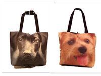 Woemns Ladies GirlsAnimal Dog Fashion Work College Shoulder Tote Shopper Handbag