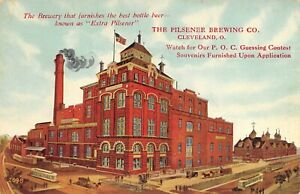 The Pilsener Brewing Co. Cleveland, Ohio Brewery Postcard