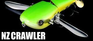 deps NZ CRAWLER 5.27 inch 3 oz Flat Wide Crawler Lure For Bass Choose Color
