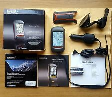 Boxed Garmin Dakota 20 with Garmin Discovery 1:50K Full G.B O.S Maps + Car Kit