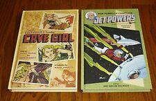 Bob Powell's Complete Cave Girl + Jet Powers Hardcover books NEW, Dark Horse
