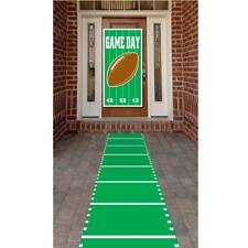 Football Field Polyester Aisle Carpet Runner Football Birthday Party Decorations