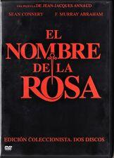 JJ Annaud: EN EL NOMBRE DE LA ROSA (2 DVD) Tarifa plana en envío dvd España, 5 €