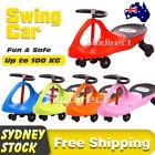 Swing Car Kids Children Scooter Baby Wiggle Twist Ride On Toys Slider Swivel AU