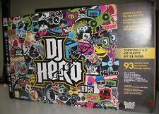 PS3 DJ HERO SET COMPLETO PIATTO IN ITALIANO PRODOTTO NUOVO