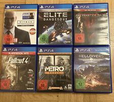 Sony Playstation 4 Spiele Sammlung