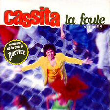 CD single CASSITA - Musique de la pub TV Perrier - Edith PIAF	La foule remix 98